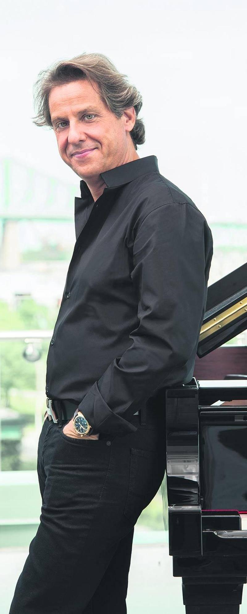 Alain Lefèvre offrira un concert au Centre des Arts Juliette-Lassonde le 22 avril.