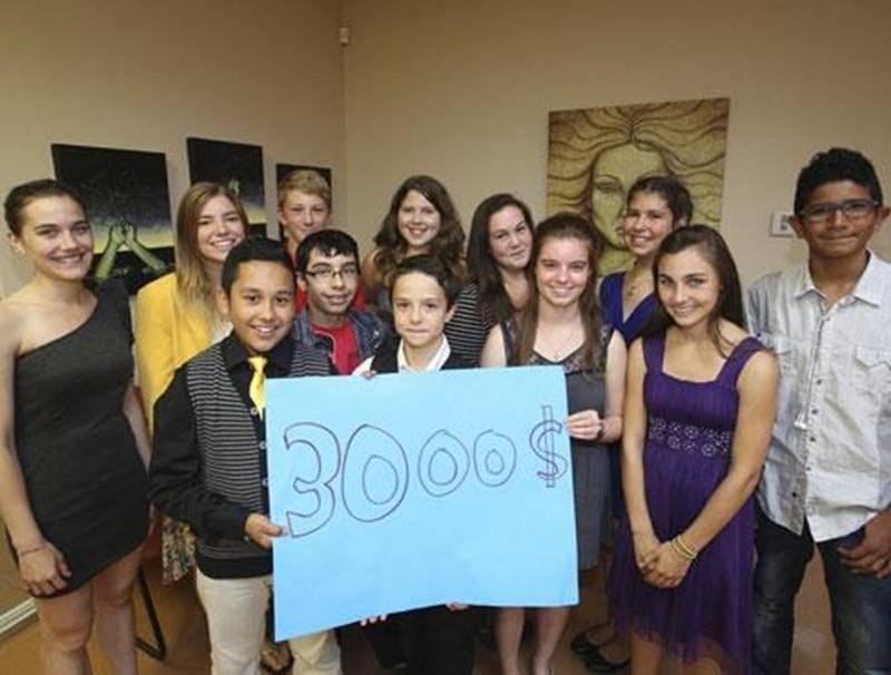 Les jeunes membres de la Coopérative jeunesse de services Motivados ont récemment conclu leur saison.