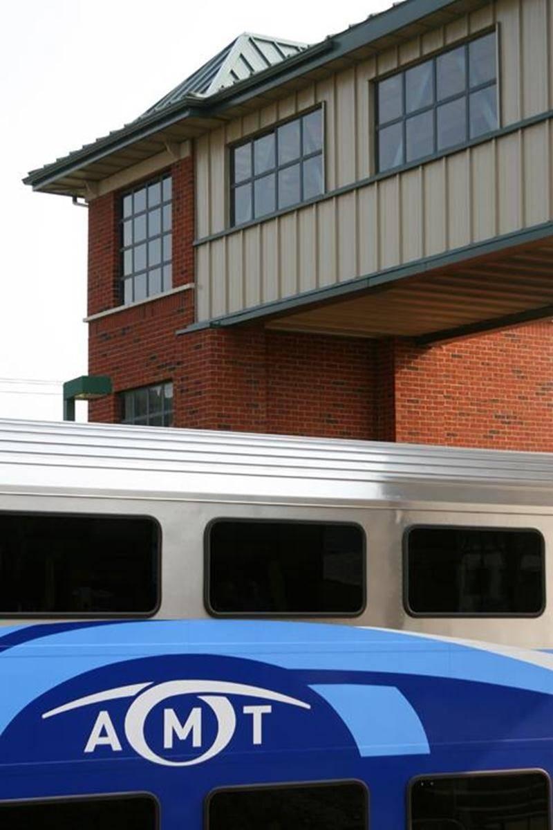 Le développement du réseau de train de banlieue jusqu'à Saint-Hyacinthe ne figure pas au plan stratégique de l'AMT.