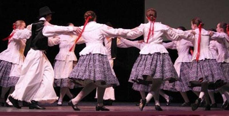 La troupe de spectacle des Chamaniers est composée de 15 à 20 jeunes âgés de 15 à 30 ans.