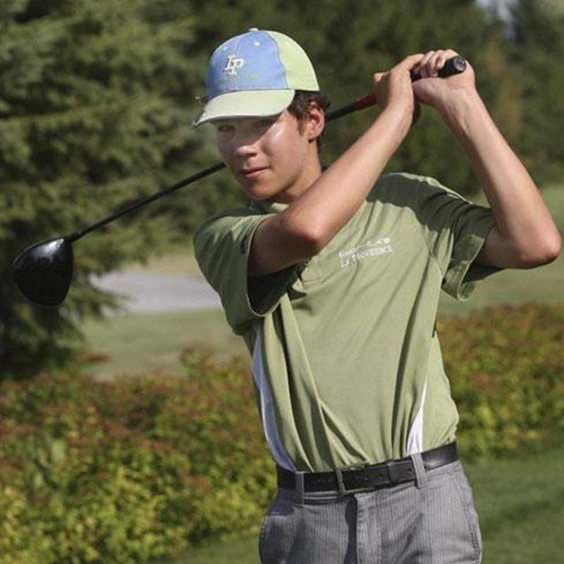 Charles Saint-Germain, 14 ans, aura la chance de participer à ses premiers Jeux du Québec dans quelques jours.