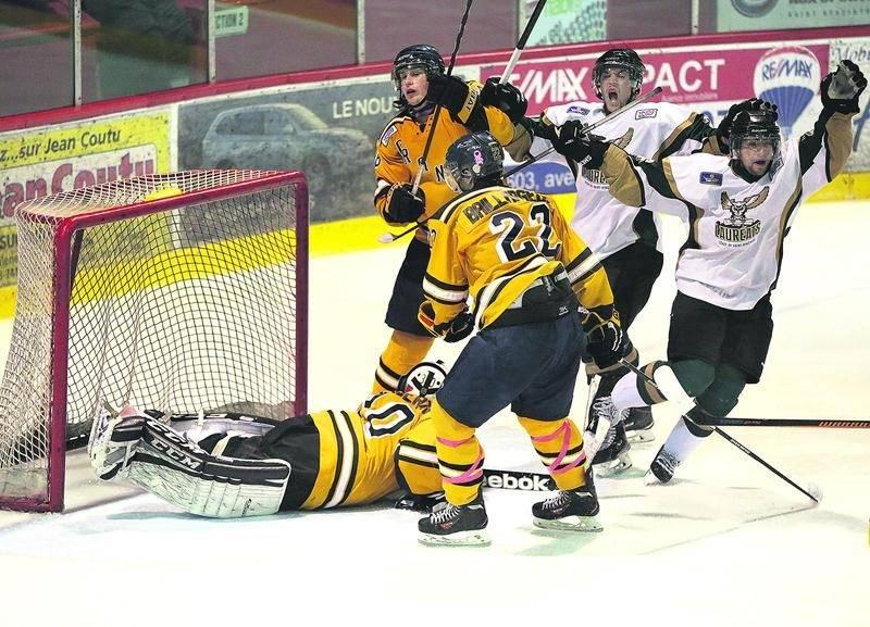 L'équipe de hockey des Lauréats intégrera la ligue collégiale du RSEQ à l'automne 2016. Photothèque   Le Courrier ©