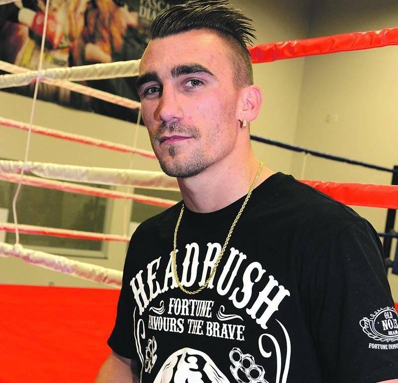 Michael Gadbois est revenu à Saint-Hyacinthe sans la ceinture WBC International Silver des poids légers. Photo François Larivière | Le Courrier ©