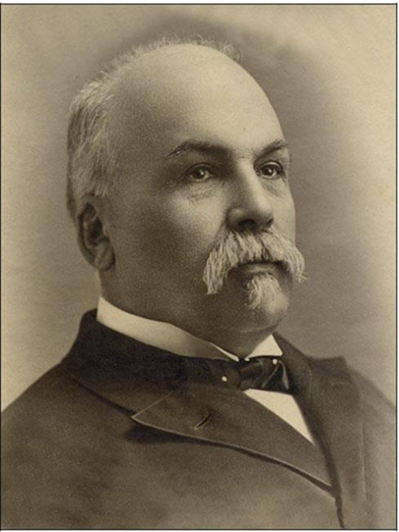 J.A. Chicoyne, député du comté de Wolfe en 1901.(BANQ, P1000,S4,D1,P11.)