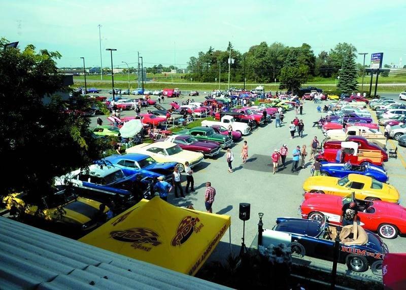 Plus de 300 voitures étaient réunies à l'occasion du grand rassemblement du 19 septembre. Photo Courtoisie