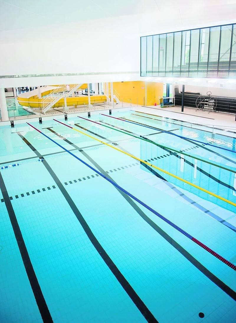 Des problèmes reliés à la conception du Centre aquatique Desjardins font craindre un vieillissement prématuré des équipements et des systèmes, en plus d'incommoder les usagers. Photothèque | Le Courrier ©