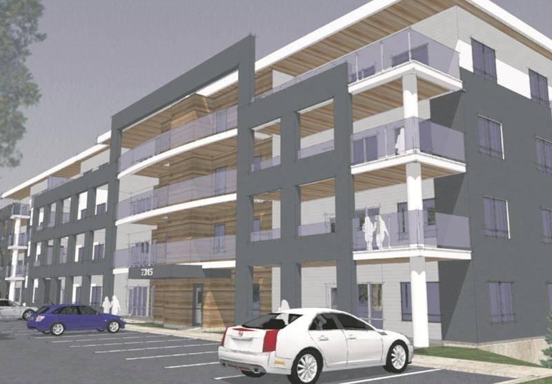 L'esquisse du projet de 38 logements « Sous les arbres », telle qu'elle apparaît sur le site web de Gestion Rodier.