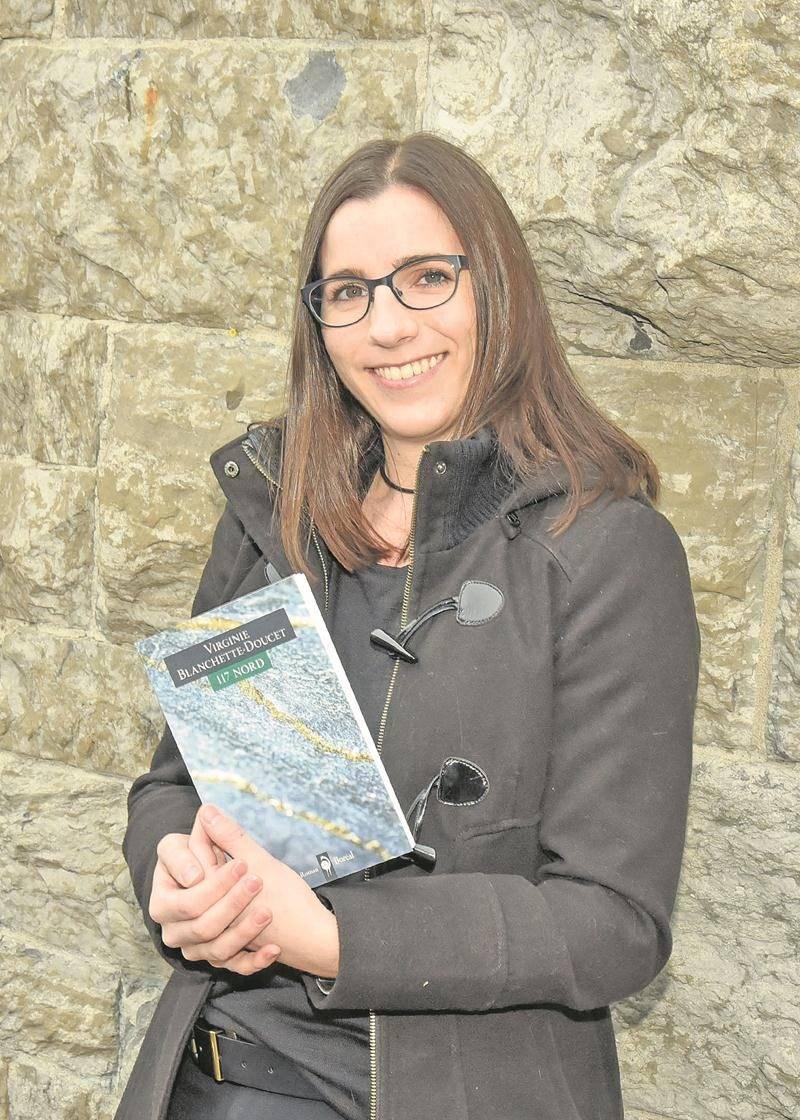 Virginie Blanchette-Doucet sera en séance de signatures à la Foire du livre de Saint-Hyacinthe le 18 mars. Photo François Larivière | Le Courrier ©