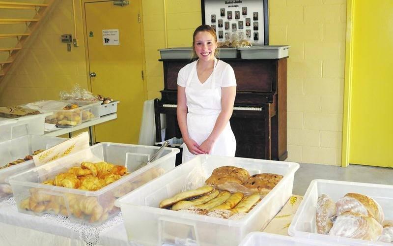 La femme et le boulanger prendra part à l'ÉcoMarché qui se tiendra au Centre communautaire de Saint-Jude dès le 28 novembre.  Photo Mathieu Robineau