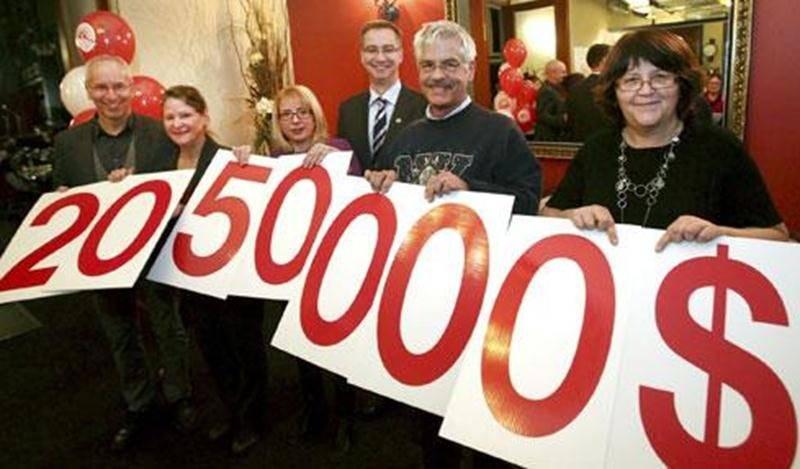 Un montant de 2 050 000 $ a été amassé pendant la campagne de financement 2012 de Centraide Richelieu-Yamaska.