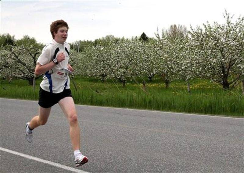 Les prouesses de Julien Pinsonneault à l'épreuve 5 km du Défi Gérard-Côté en ont impressionné plus d'un.