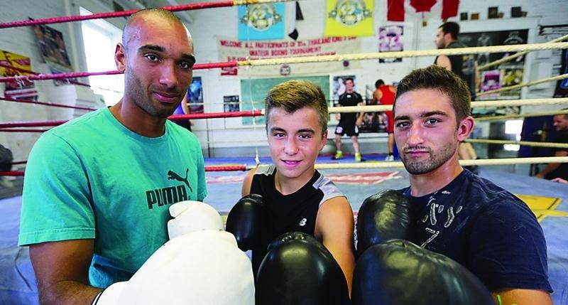 Nicolas Cayo, Nathan Laliberté et Frédéric Messier seront de retour en action le 22 août, à Saint-Hilaire. Photo Robert Gosselin | Le Courrier ©