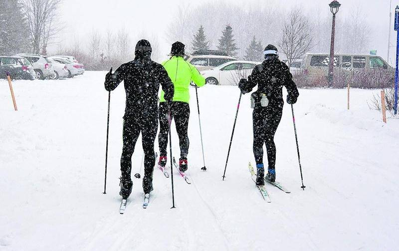 Les amateurs de sports d'hiver sont en mode rattrapage. Photo François Larivière | Le Courrier ©