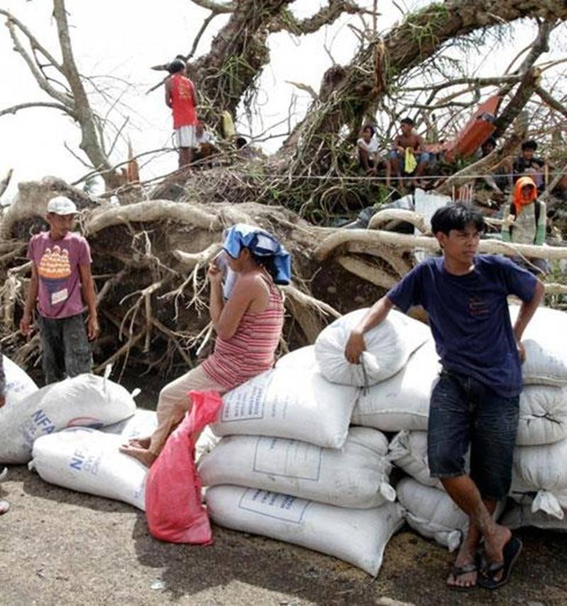 En novembre, Mgr François Lapierre lançait un appel à la solidarité envers les victimes du typhon Haiyan aux Philippines en invitant toutes les paroisses du diocèse de Saint-Hyacinthe à participer à une quête spéciale. Son appel a été entendu, c'est une somme de plus de 77 000 $ qui a été versée à Développement et Paix jusqu'à maintenant. Cette somme sera doublée par une contribution du gouvernement du Canada. Pour le moment, Développement et Paix continue à répondre aux besoins urgents : eau, n