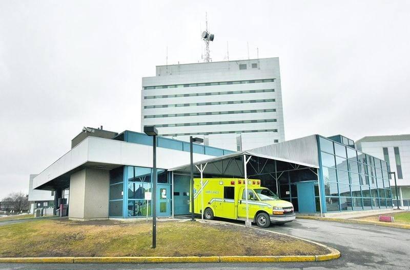 L'urgence de l'Hôpital Honoré-Mercier attend toujours le feu vert du ministère pour son projet d'agrandissement. Photo François Larivière | Le Courrier ©
