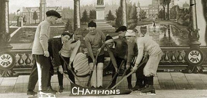Une équipe championne du Séminaire de Saint-Hyacinthe