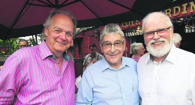 Léon Lussier, Roger Duceppe et Réal Brodeur.