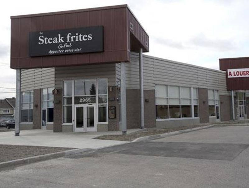 Le restaurant Steak frites St-Paul a déjà été la cible de voleurs bien préparés qui ont fait main basse sur le contenu du coffre-fort.