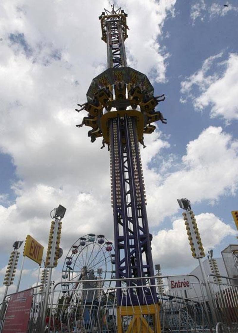 Le soleil intense et les manèges ont donné quelques maux de tête aux dirigeants de l'Exposition agricole en 2012.