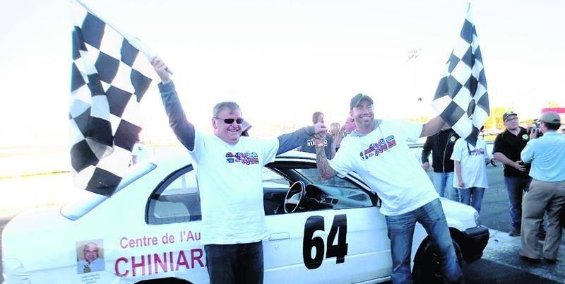 La 3e édition de la Course X-trême non-voyants se tiendra le 11 octobre à Sanair. Photo Courtoisie