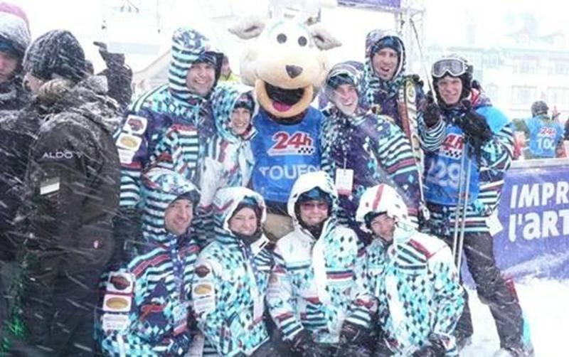 Les fonds amassés lors du Vitrin-O-thon financeront une équipe de skieurs damasiens lors du Défi 24 heures Tremblant. Une activité de financement au profit de la Fondation Charles-Bruneau.