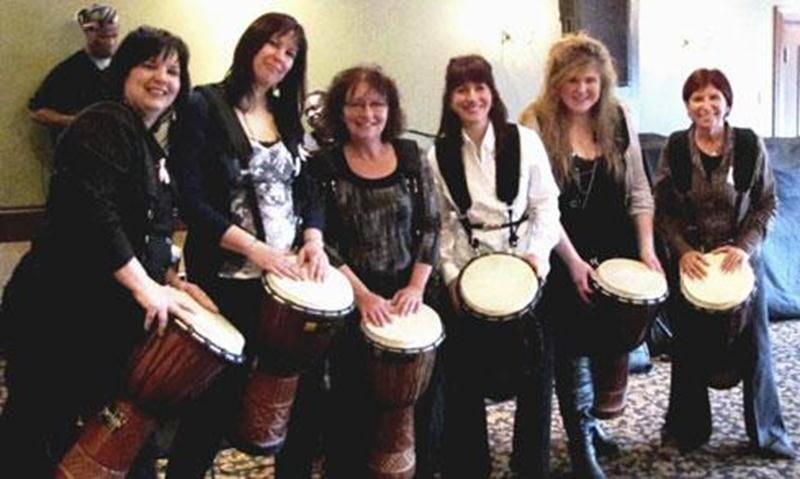 Les membres du comité organisateur, de gauche à droite : Julie Boudreau, Marie-Josée Cadieux, Paulette Rajotte, Maggie Gagnon, Stéphanie Leblanc et Céline Charron.