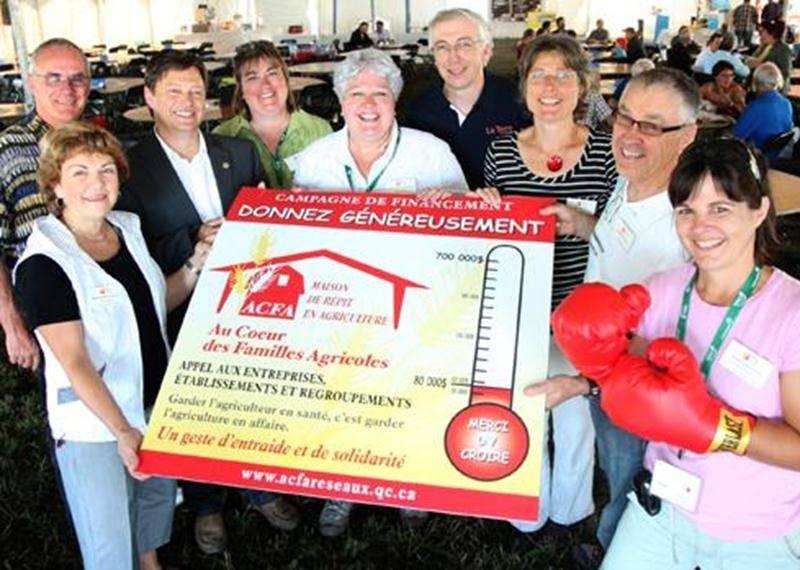 L'organisme Au coeur des familles agricoles lance une campagne de financement en vue de fonder la première maison de répit en agriculture au Québec.