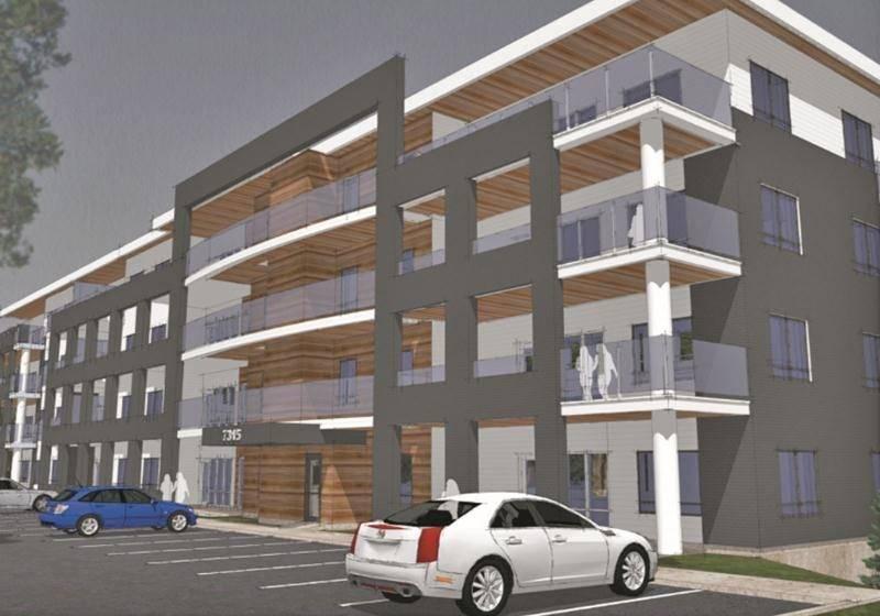 Gestion Rodier pourra aller de l'avant avec la construction d'un immeuble de 38 logements dans le seteur Saint-Thomas-d'Aquin. Photothèque Le Courrier.