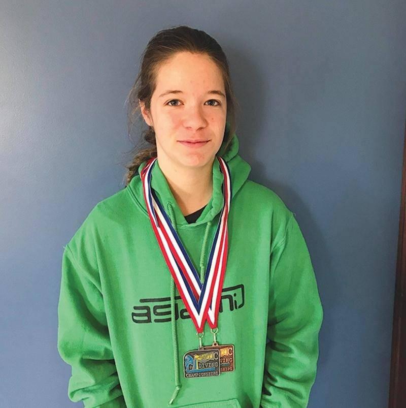 Plongeon : deux médailles à Halifax pour Ève Robidoux