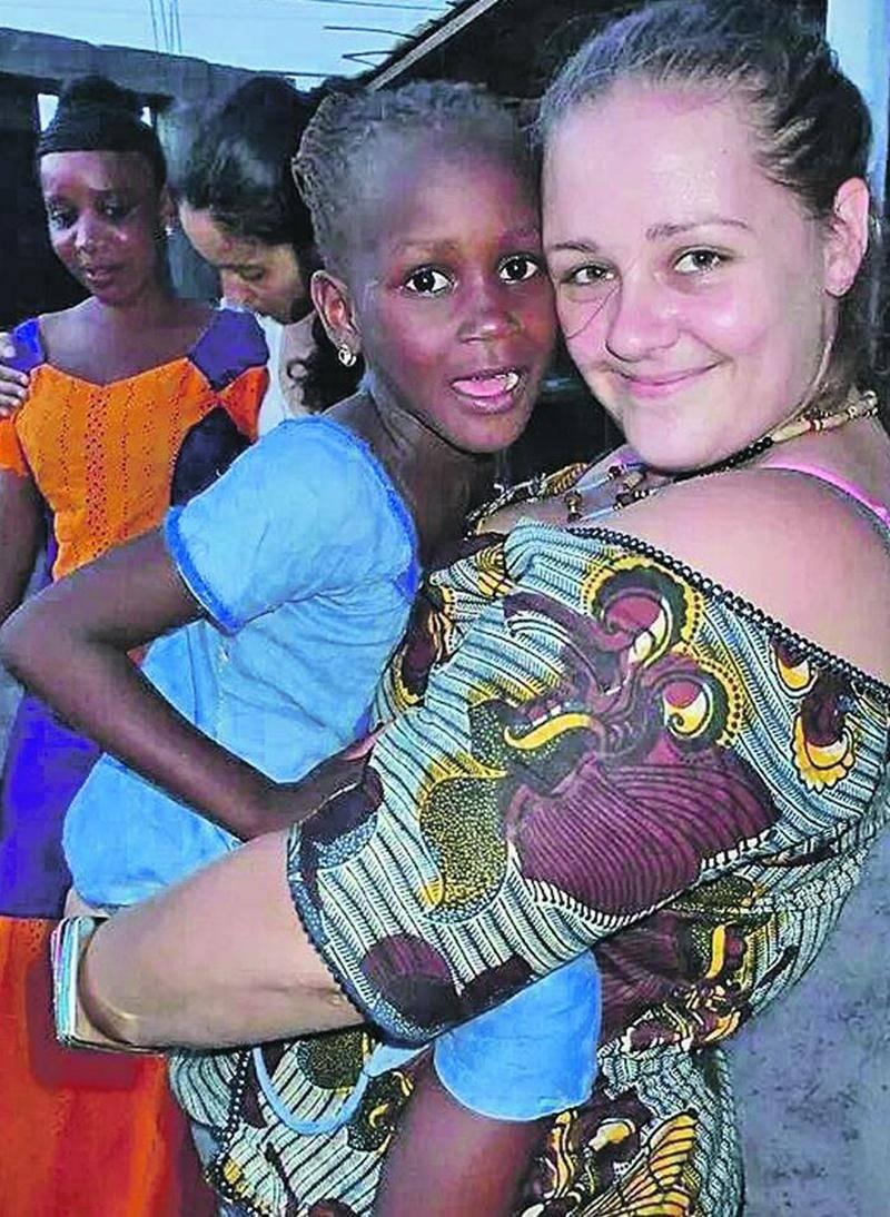 Durant cinq semaines, Geneviève Simard, infirmière à l'Hôpital Honoré-Mercier, a tenté d'améliorer les conditions de vie des Sénégalais. Photo courtoisie
