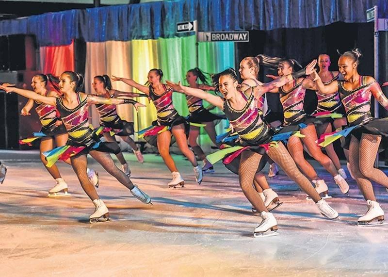 Spectacle de patinage artistique le 7 avril