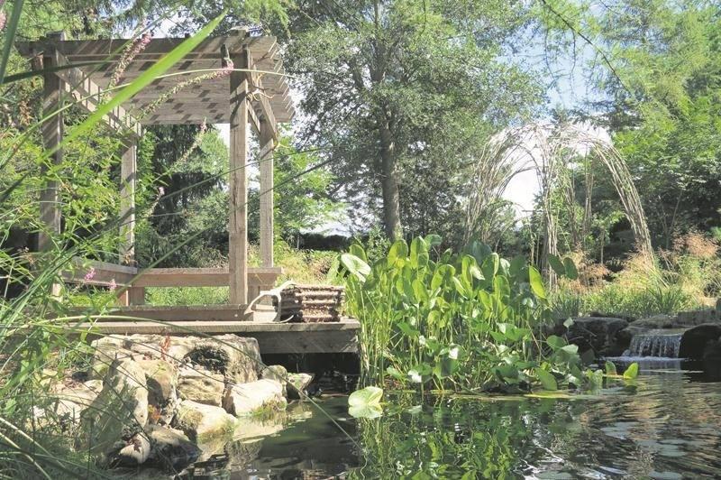 Le jardin « Ista » a remporté le premier prix de l'APPQ dans la catégorie « Jardins de la relève ».