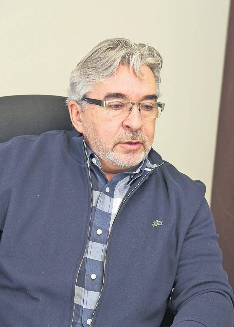 Le maire de Saint-Valérien-de-Milton, Daniel Paquette. Photo Robert Gosselin | Le Courrier ©