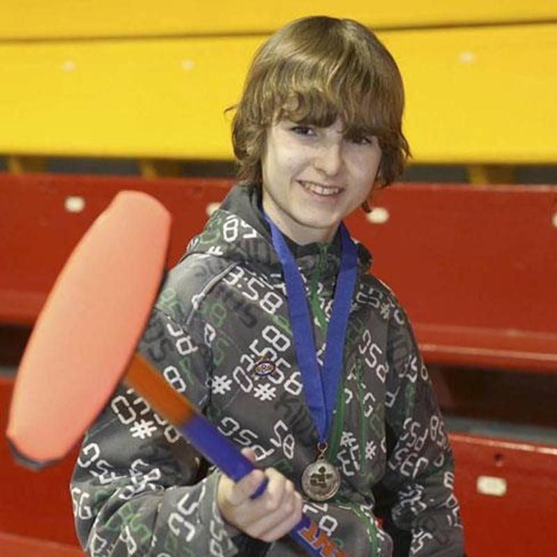 Antoine Barabé, de Saint-Dominique, participera à ses premiers Jeux du Québec. Il représentera la région Richelieu-Yamaska en curling.