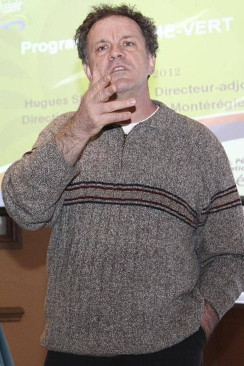 Hugues St-Pierre, directeur adjoint au ministère de l'Agriculture, des Pêcheries et de l'Alimentation du Québec sur le territoire Montérégie-Est.