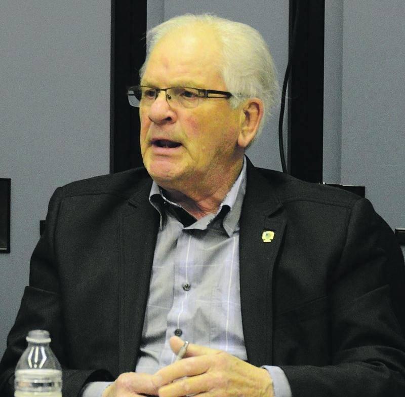 Le maire de Sainte-Marie-Madeleine, Simon Lacombe, n'a pas toujours la vie facile au sein de son conseil. Photothèque   Le Courrier ©