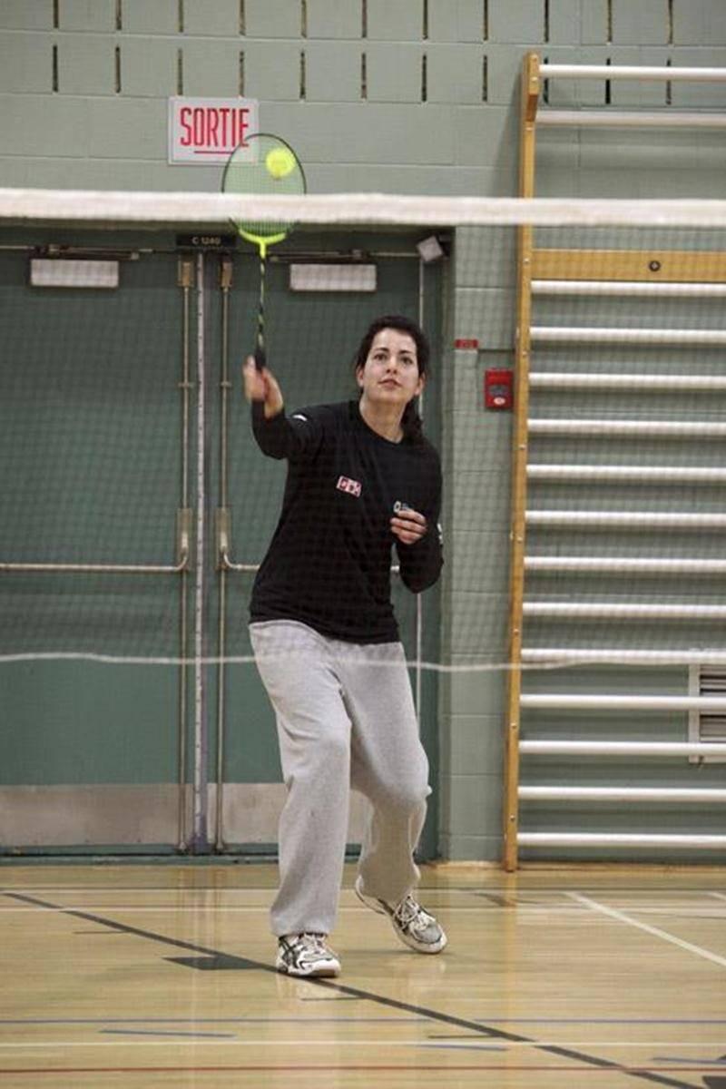 Sabrina Pelletier a démarré sa saison collégiale avec une deuxième position, dimanche, à Sherbrooke.