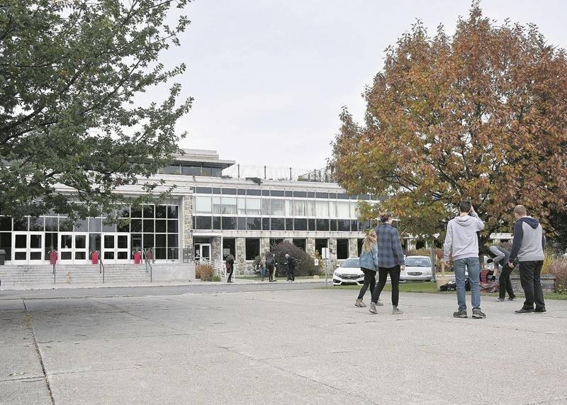 Le campus de Saint-Hyacinthe de l'Institut de technologie agroalimentaire (ITA).  Photo François Larivière   Le Courrier ©