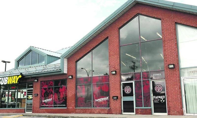 Fire Gym a fermé ses portes à la mi-juillet, prétextant un éventuel déménagement.  Photo Robert Gosselin | Le Courrier ©