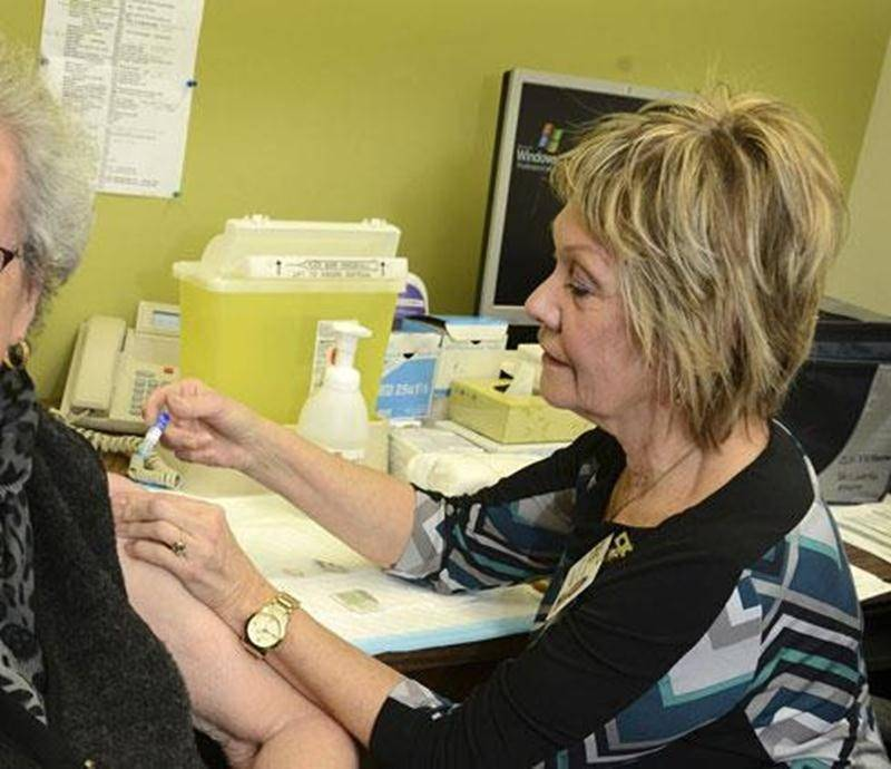 Une hausse de la demande s'est fait ressentir à la clinique de vaccination du CLSC des Maskoutains depuis la dernière semaine.