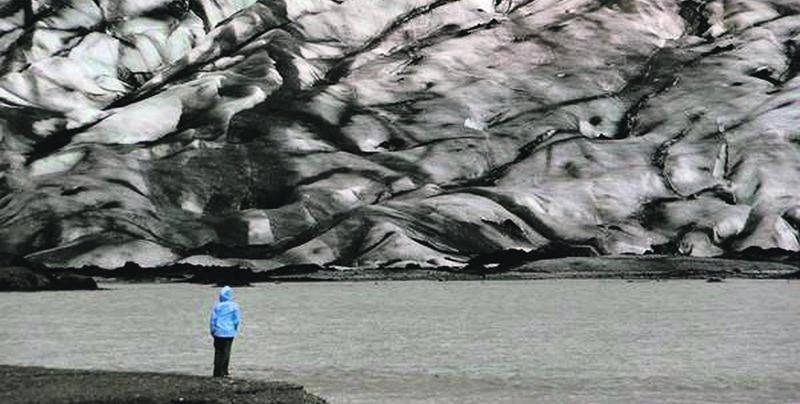Le glacier islandais Myrdalsjokull