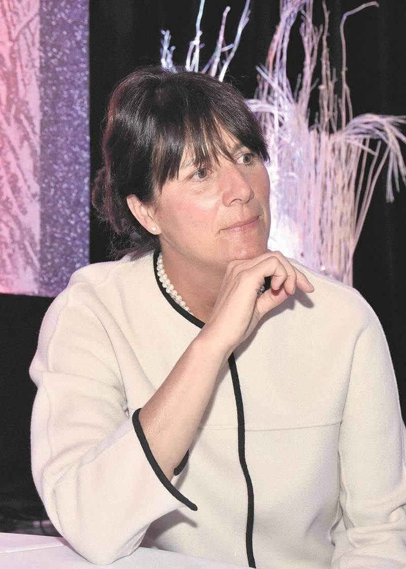 Sophie Brochu, présidente et chef de la direction de Gaz Métro.  Photo François Larivière | Le Courrier ©
