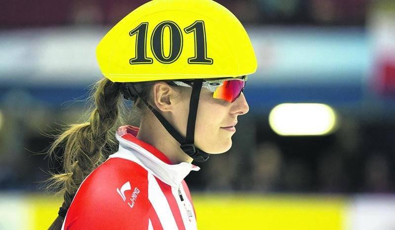 Audrey Phaneuf défendra les couleurs canadiennes à Séoul du 11 au 13 mars. Photo fotosports.ca