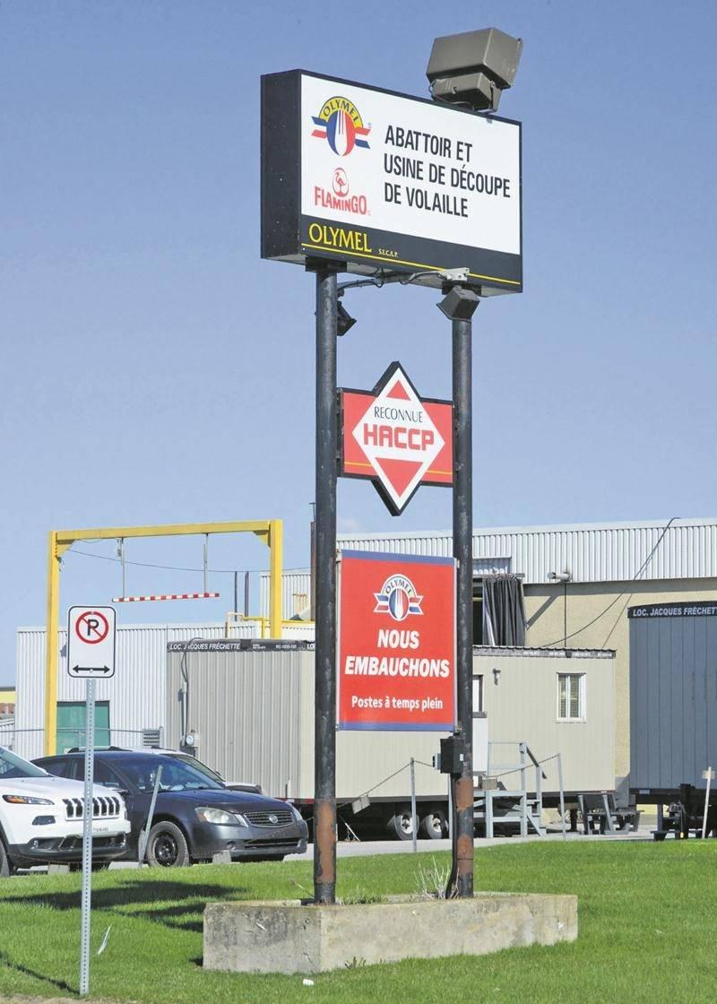 L'usine d'abattage et de découpe de poulet de Saint-Damase accueillera d'ici le 28 octobre, 26 employés de l'usine de désossage de porc de Saint-Hyacinthe.Photothèque | Le Courrier ©
