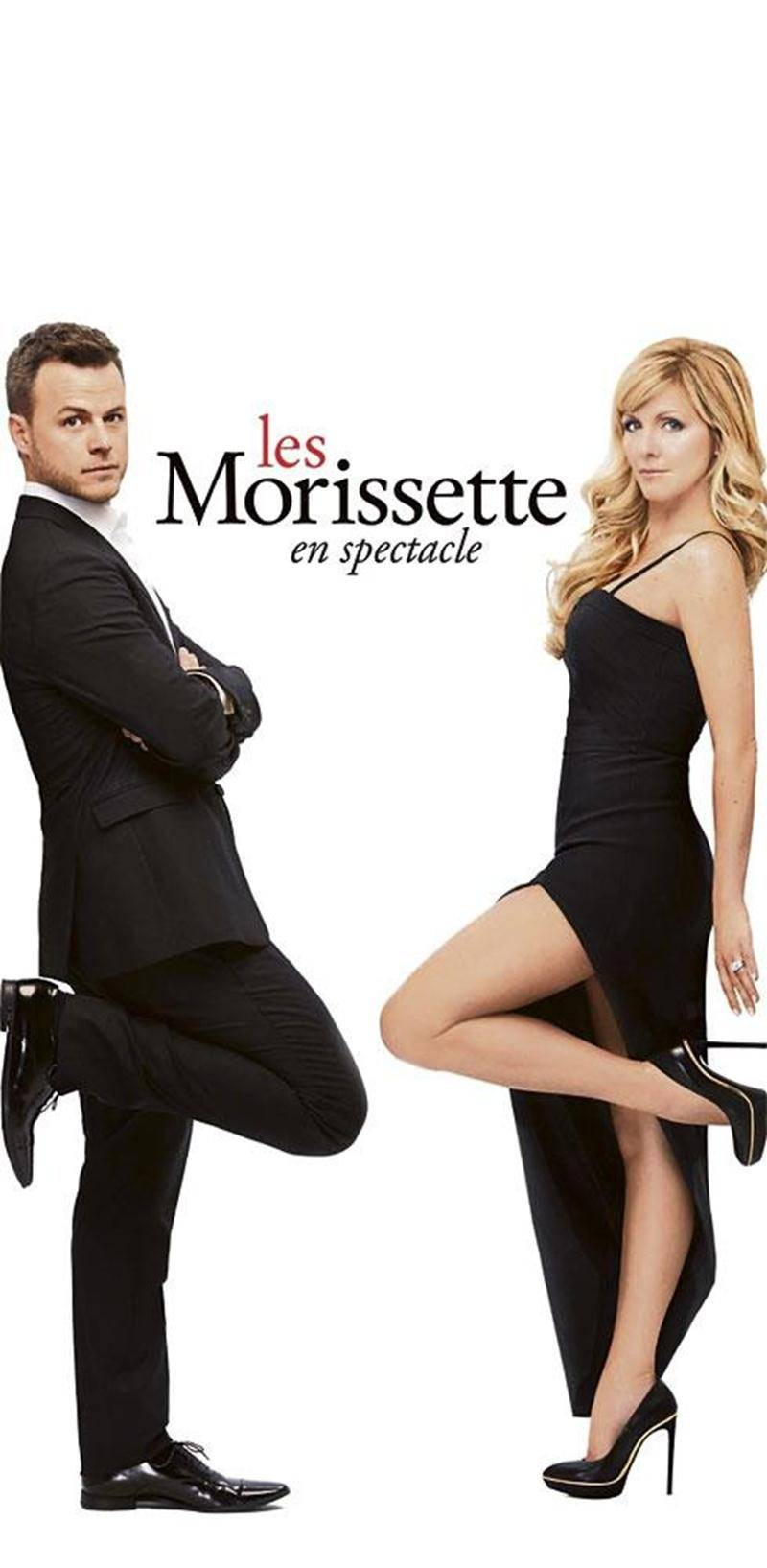 Véronique Cloutier et Louis Morissette prendront d'assaut les salles de spectacle québécoises pour présenter leur premier spectacle humoristique <em>Les Morissette</em> dès l'été prochain.