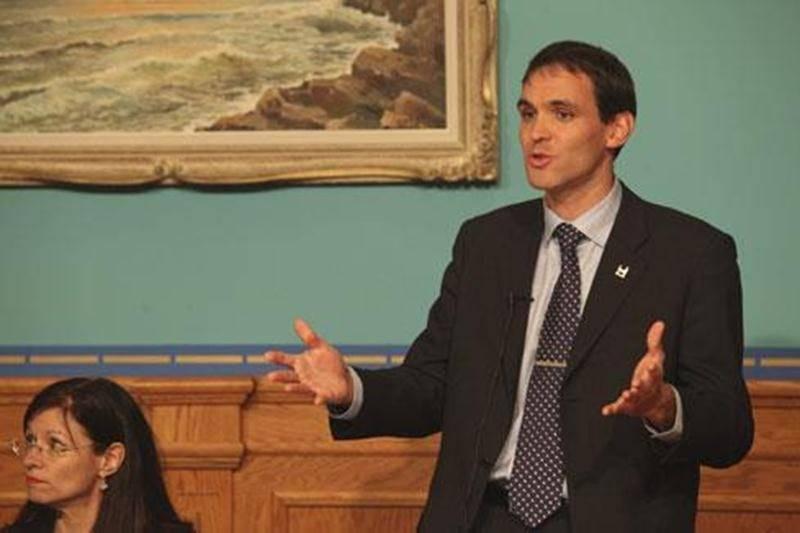 David Bousquet, conseiller du district Sacré-Coeur, a été élu Personnalité de la relève de l'année par l'Union des municipalités du Québec.