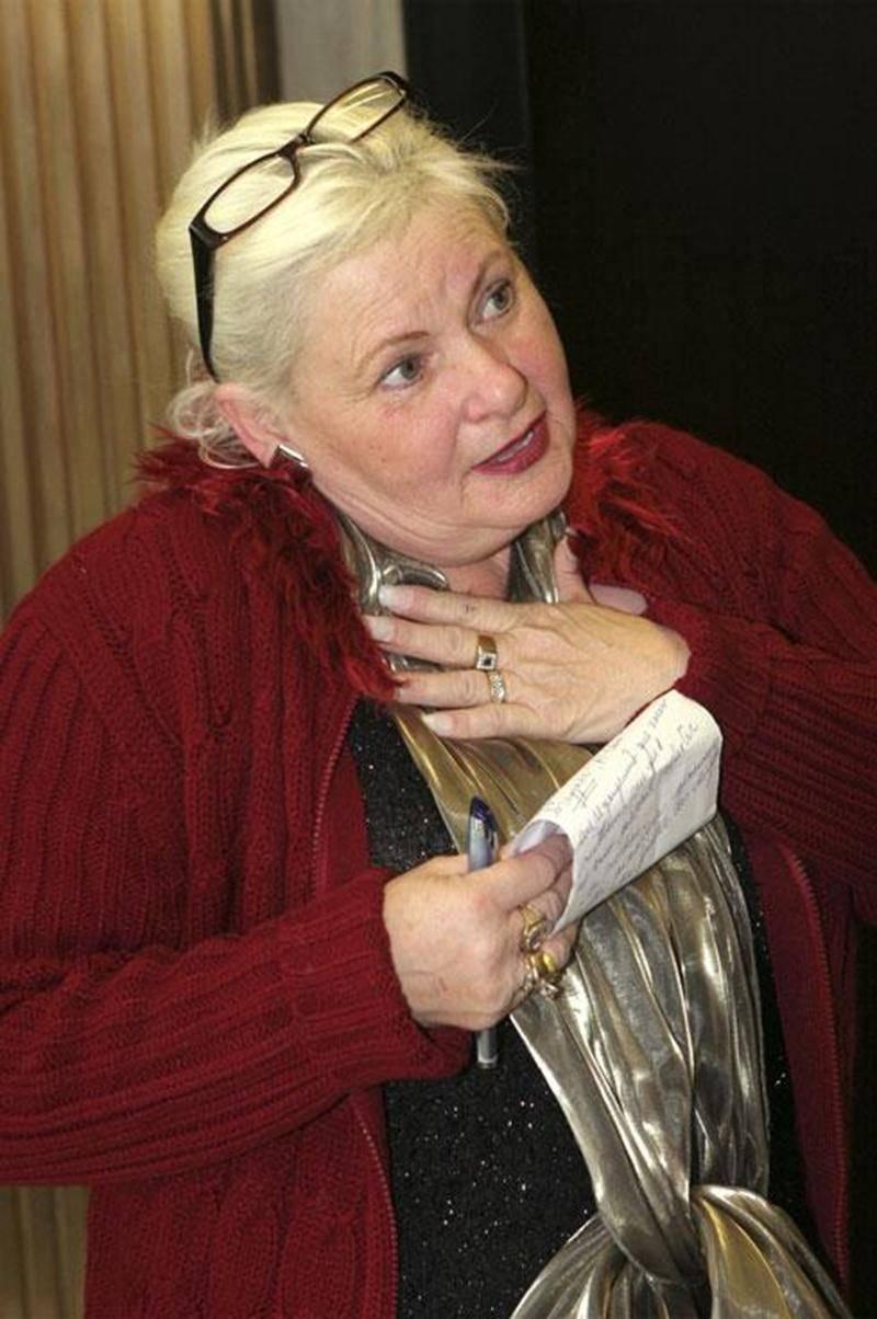 Yvonne Bourgeois, lors de son témoignage dans le cadre de l'enquête publique du coroner en mars 2007 au Palais de justice de Saint-Hyacinthe.