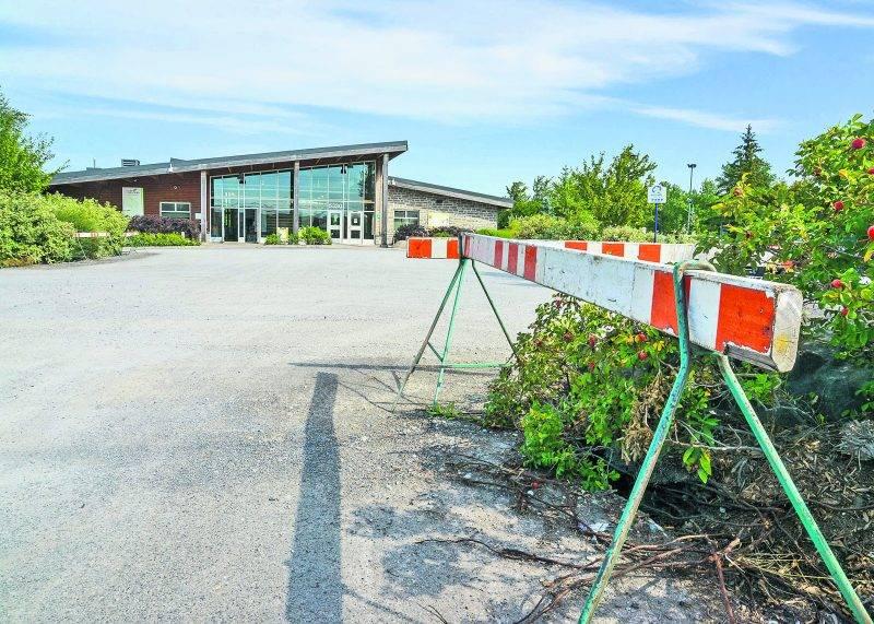 Les travaux de reconstruction du parc Les Salines ont débuté le 5 septembre.   Photo François Larivière   Le Courrier ©