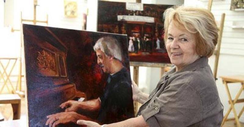Claire Morin présentera l'exposition <em>Les Rouges Passion</em>, les samedi et dimanche 6 et 7 avril, à la nouvelle galerie des Beaux-Arts, située à même l'école des Beaux-Arts de Saint-Hyacinthe, de 13h à 17 h.