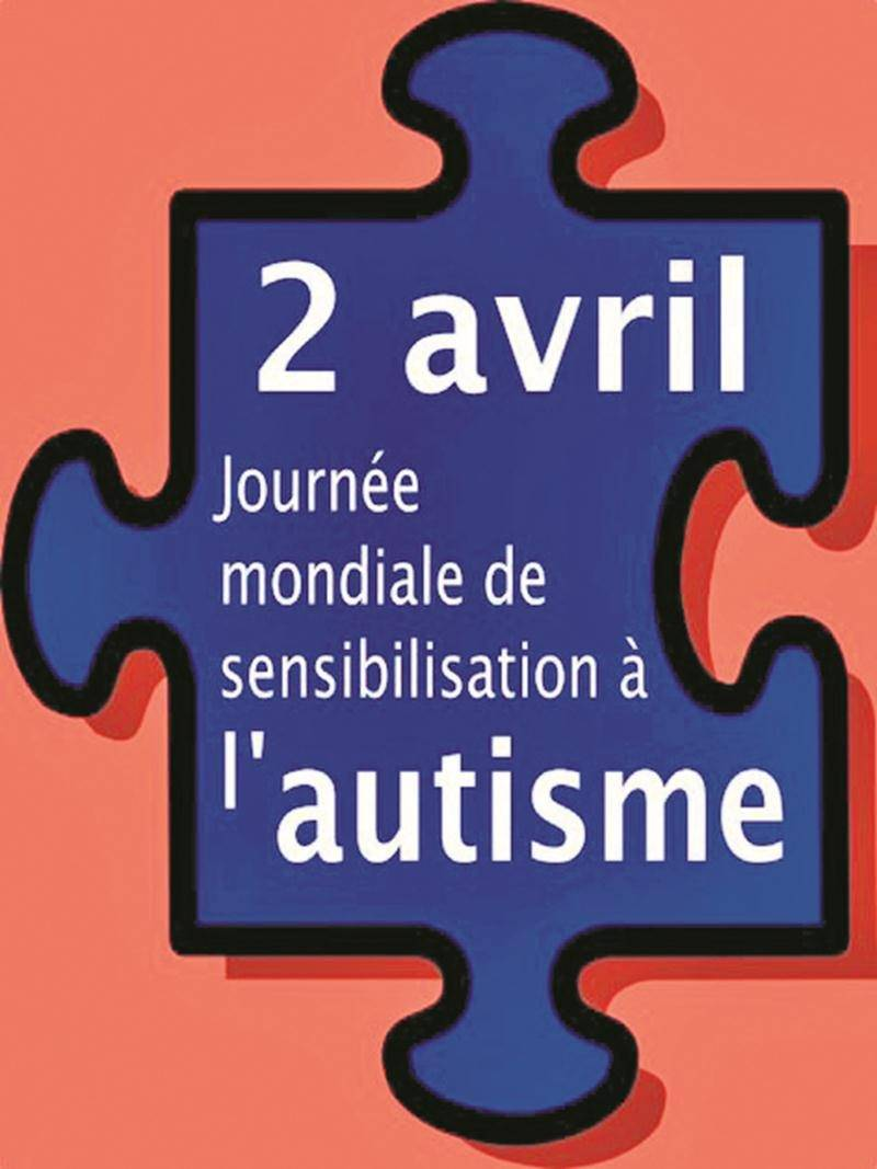 Le 2 avril, en bleu pour l'autisme